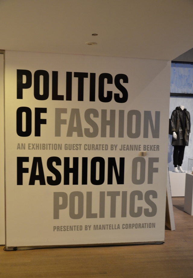 Politics of Fashion | Fashion of Politics - Design Exchange