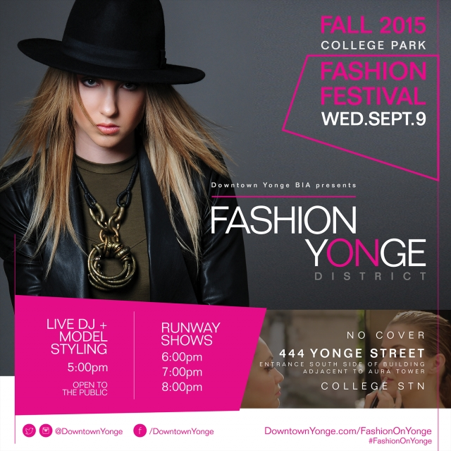 Fashion On Yonge - September 2015