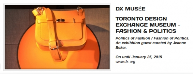 Politics | Fashion - An Exhibition